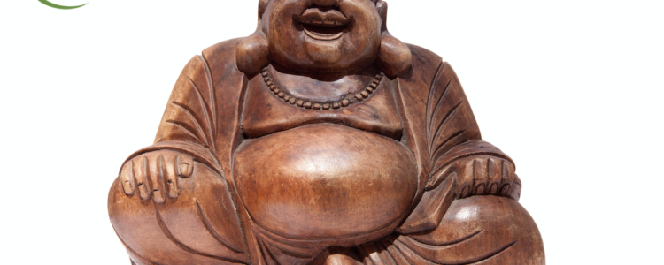 Buddha of Happiness – one of the 10 lucky symbols